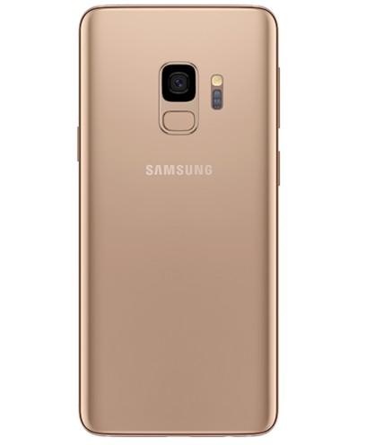 Задняя крышка (корпус) для Samsung Galaxy S9 (SM-G960), цвет: золотой