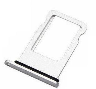 Sim-слот (сим-лоток) для iPhone 8 Plus, цвет: белый