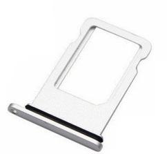 Sim-слот (сим-лоток) для iPhone 8, цвет: белый