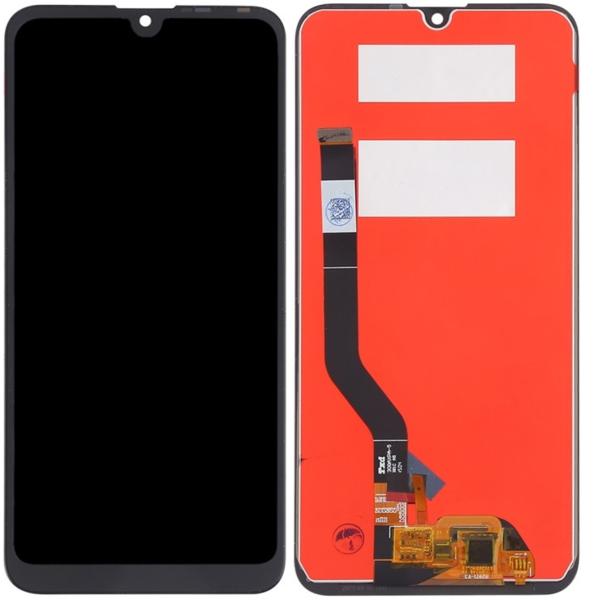 Экран для Huawei Y7 2019 (DUB-LX1) с тачскрином, цвет: черный