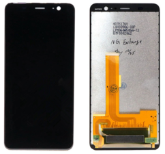 Экран для HTC U11 Plus с тачскрином, цвет: черный