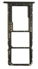 Sim-слот (сим-лоток) для Huawei Honor 8x, цвет: черный