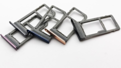 Sim-слот (сим-лоток) для Samsung Galaxy S9 , цвет: синий