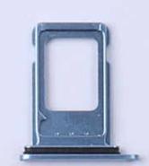 Sim-слот (сим-лоток) для iPhone XR, цвет: синий