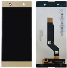 Экран для Sony XA1 Plus (G3421, G3423) с тачскрином, цвет: золотой
