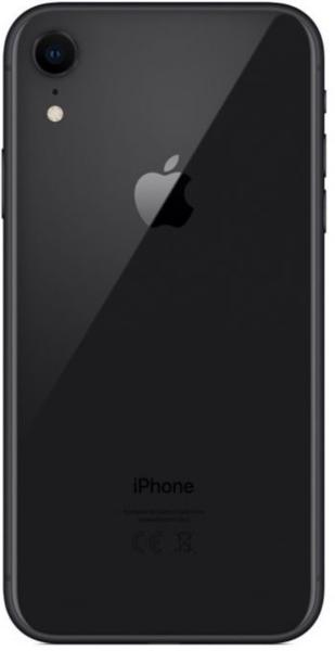 Задняя крышка для Apple iPhone XR, цвет: черный