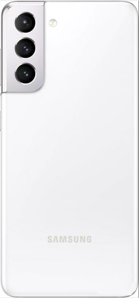 Задняя крышка (корпус) для Samsung Galaxy S21, цвет: белый фантом