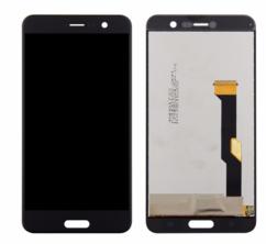 Экран для HTC U Play с тачскрином, цвет: черный