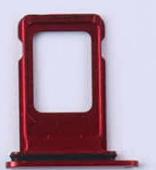 Sim-слот (сим-лоток) для iPhone XR, цвет: красный