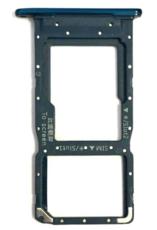 Sim-слот (сим-лоток) для Huawei P Smart 2019, цвет: синий