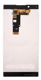 Экран для Sony L1 (G3311, G3312) с тачскрином, цвет: белый