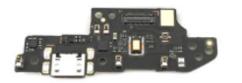 Нижняя плата для Xiaomi Redmi 9A с разъемом зарядки, микрофоном