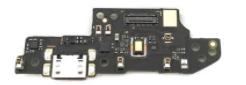 Нижняя плата для Xiaomi Redmi 9 с разъемом зарядки, микрофоном