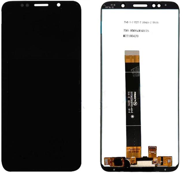 Экран для Huawei Y5 Lite (DRA-LX5) 2018 с тачскрином, цвет: черный