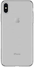 Задняя крышка для Apple iPhone XS Max, цвет: серебро