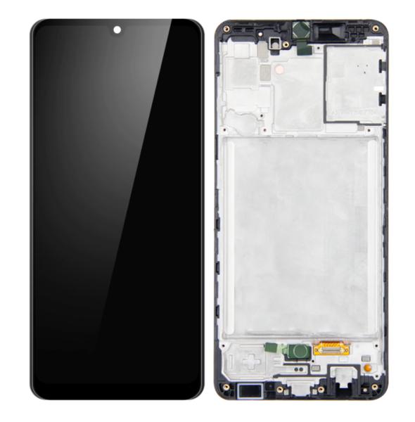 Экран для Samsung Galaxy A31 с тачскрином, цвет: черный, Oled