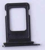 Sim-слот (сим-лоток) для iPhone XR, цвет: черный