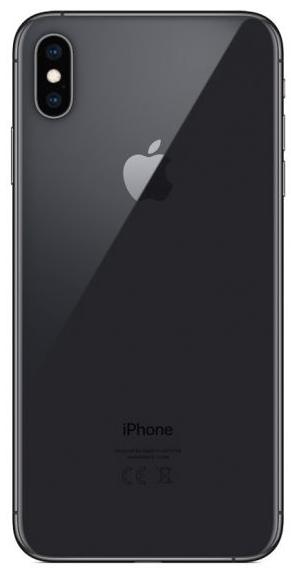 Задняя крышка для Apple iPhone XS Max, цвет: серый