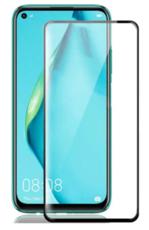 Защитное стекло для Huawei Nova 6 SE 5D (полная проклейка), цвет: черный
