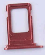 Sim-слот (сим-лоток) для iPhone XR, цвет: коралловый