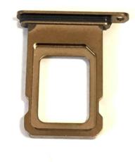 Sim-слот (сим-лоток) для iPhone XS MAX, цвет: золотой