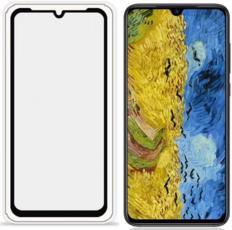 Защитное стекло для Huawei Honor 10 Lite 5D (полная проклейка), цвет: черный