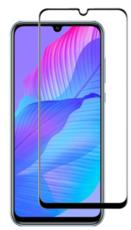 Защитное стекло для Huawei P Smart S 5D (полная проклейка), цвет: черный
