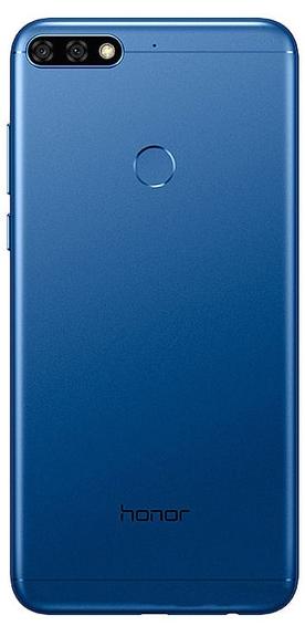 Задняя крышка (корпус) для Huawei Honor 7C Pro, цвет: синий
