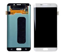Экран для Samsung Galaxy S6 Edge (G925F) с тачскрином, цвет: белый оригинальный