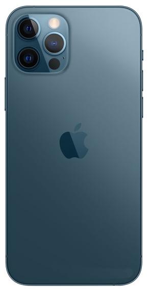 Задняя крышка (корпус) для Apple iPhone 12 Pro, цвет: тихоокеанский синий