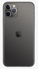Задняя крышка (корпус) для Apple iPhone 11 Pro, цвет: темно-серый