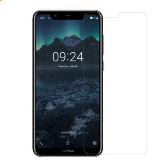 Защитное стекло для Nokia 5.1 Plus + (X5) цвет: прозрачный