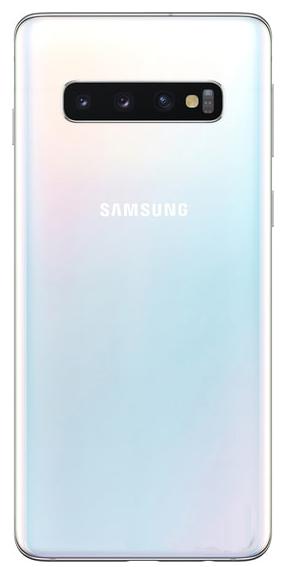 Задняя крышка (корпус) для Samsung Galaxy S10 (SM-G977, G973), цвет: белый