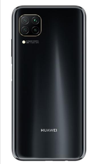 Задняя крышка (корпус) для Huawei P40 Lite, цвет: черный