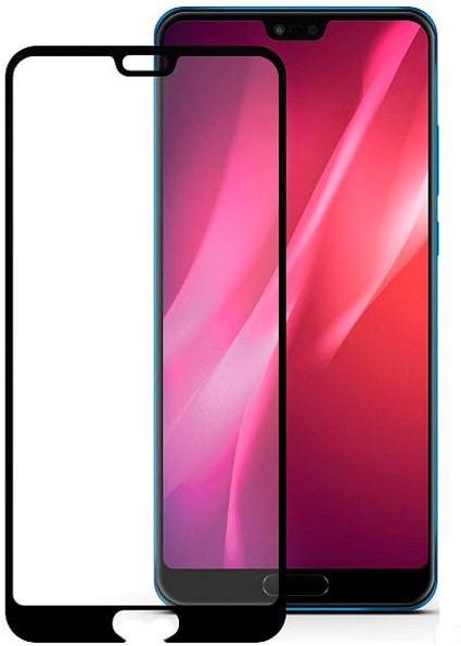 Защитное стекло для Huawei Honor 10 5D (полная проклейка), цвет: черный
