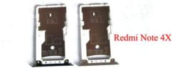 Sim-слот (сим-лоток) для Xiaomi Redmi Note 4x, цвет: золото
