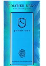 Защитное стекло для Samsung Galaxy S20 Plus 5D (полная проклейка), цвет: черный, работает сканер отпечатков