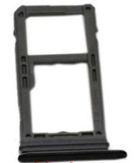 Sim-слот (сим-лоток) для Samsung Note 8, цвет: черный