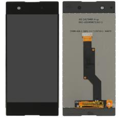 Экран для Sony Xperia XA1 G3112 с тачскрином, цвет: черный оригинальный в рамке