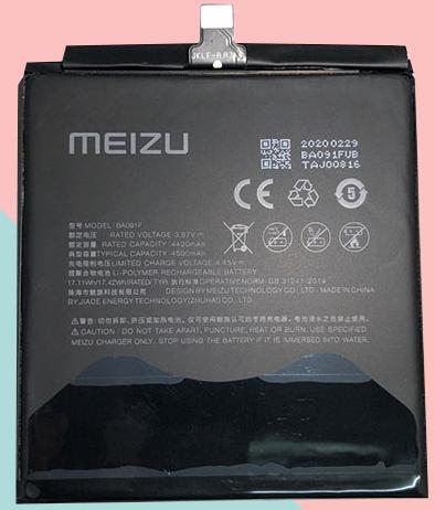 Аккумулятор для Meizu 17 Pro (BA091F) оригинальный