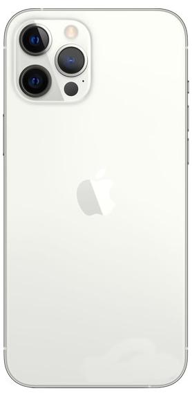 Задняя крышка (корпус) для Apple iPhone 12 Pro MAX, цвет: серебристый