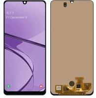 Экран для Samsung Galaxy A31 с тачскрином, цвет: черный оригинальный