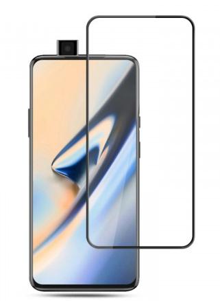 Защитное стекло для OnePlus 7 Pro 5D (полная проклейка), цвет: черный