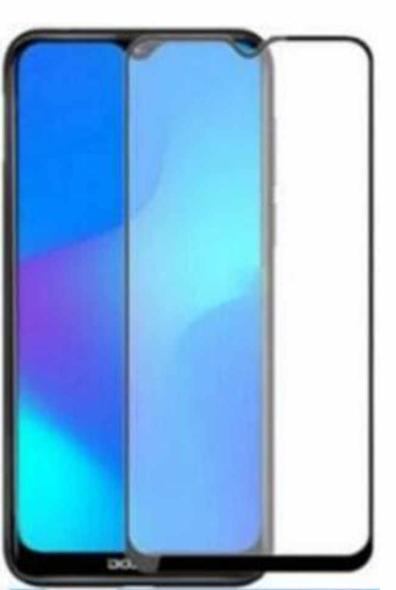 Защитное стекло для ZTE Blade 20 Smart 5D (полная проклейка), цвет: черный