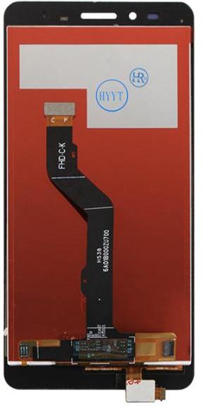 Экран для Huawei GR5 (KII-L03,KII-L21,KII-L22,KII-L23) с тачскрином, цвет: золотой