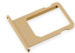 Sim-слот (сим-лоток) для iPhone 6, цвет: золотой