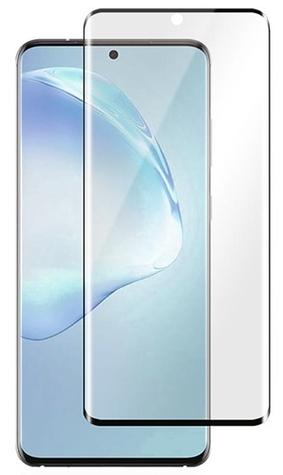 Защитное стекло для Samsung Galaxy S20 Ultra 5D (полная проклейка), цвет: черный
