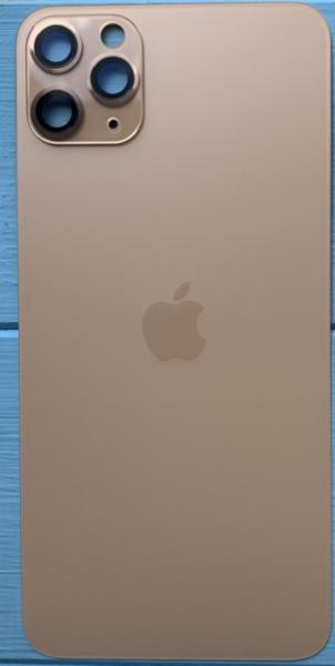 Задняя крышка для Apple iPhone 11 Pro, цвет: золотой