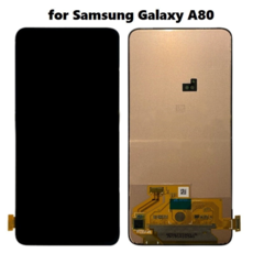 Экран для Samsung Galaxy A80 (SM-A805F) с тачскрином, цвет: черный оригинальный