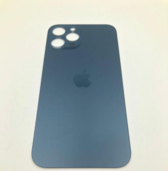 Задняя крышка (стекло) для Apple iPhone 12 Pro MAX, цвет: синий